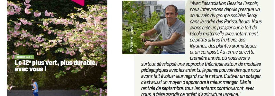 La Traversine – Journal du 12eme, Mairie de Paris