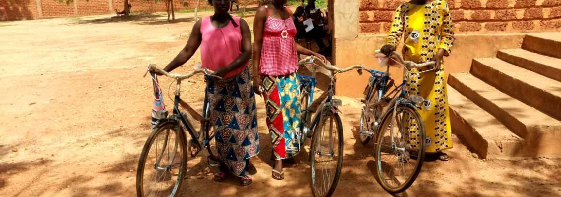 Bicyclettes à Laafi